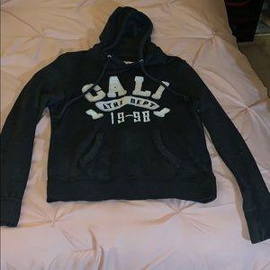 Dark gray Cali Hoodie